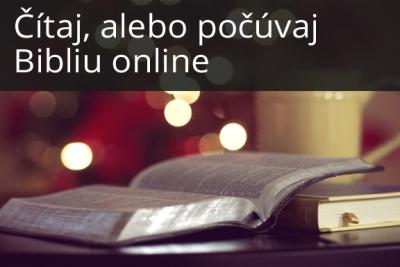 Čítaj Bibliu online